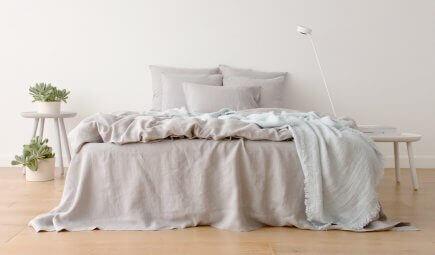 10 motivi per amare la biancheria da letto in lino