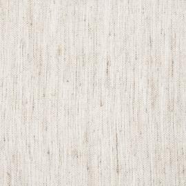 Tessuto di lino velato bianco naturale