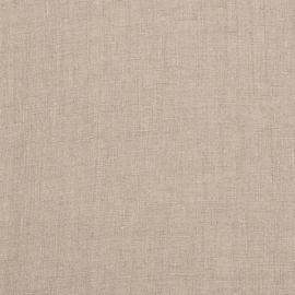 Tessuto di lino tinta unita naturale