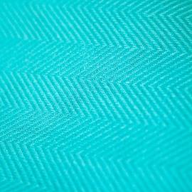 Tessuto di lino color capri turchese Emilia
