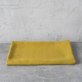 Asciugamano da bagno in lino limone tessitura huckaback Lara
