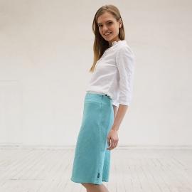 Camicia in lino bianco Sofie