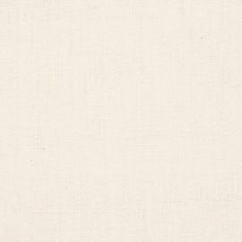 Tessuto di lino color crema prelavato Lara