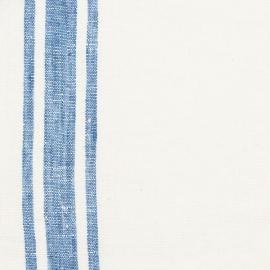 Tessuto di lino blu Tuscany