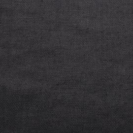 Tessuto di lino color grigio prelavato Lara