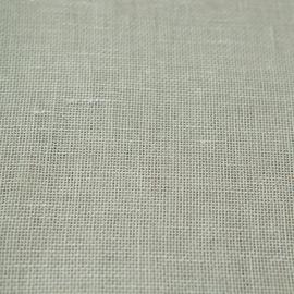 Tessuto di lino bianco panna prelavato Twist Open