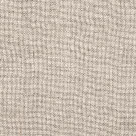 Campione di tessuto di lino naturale Rustico