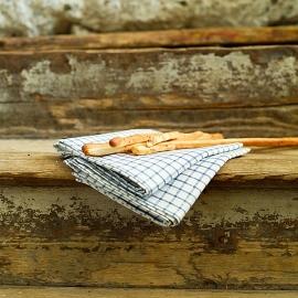 Set di 2 asciugamani da viso in lino naturale Philippe