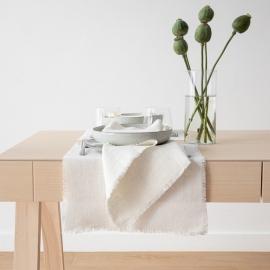 Tovaglietta in Lino Bianco Sporco Rustic
