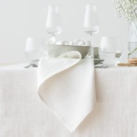 Optical White Toile de Lin Stone Washed
