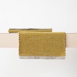 Tovaglietta in lino tessuta a mano Lara Citrine