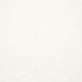 Tessuto di lino bianco prelavato Louisa