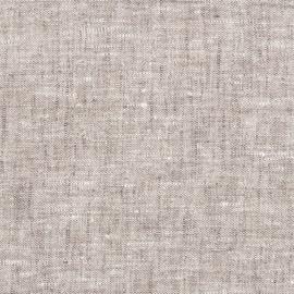 Tessuto di lino betulla prelavato Francesca
