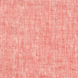Campione di tessuto di lino rosso Francesca