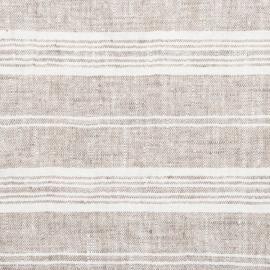 Tessuto di lino betulla Multistripe