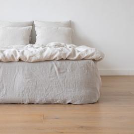 Silver Set di Biancheria da Letto  Stone Washed Rhomb