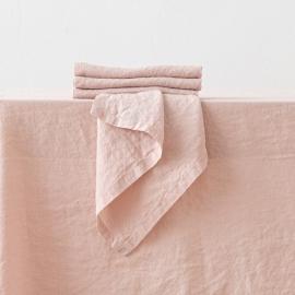 Tovagliolo in Lino Stone Washed Rosa