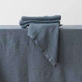 Tovagliolo in Lino Stone Washed Blue