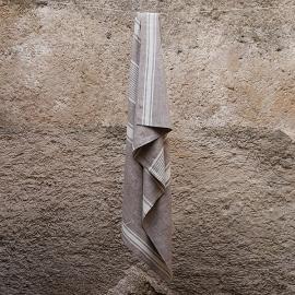 Asciugamano da Bagno in Lino Beige Provence