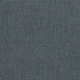 Tessuto Lino Lavato Blu Stone Washed
