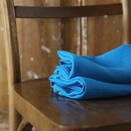 Set di 2 asciugamani da mano in lino turchese Lara