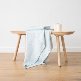 Asciugamano da Bagno in Lino Ghiaccio Washed Waffle