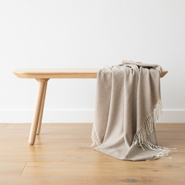 Telo in cashmere beige Everest Herringbone