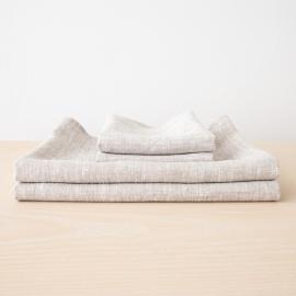 Set di Asciugamani da Bagno in Lino Birch Francesca