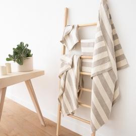 Set di 2 asciugamani da mano in lino naturale Philippe