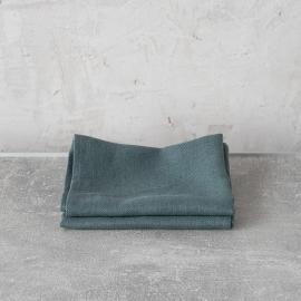 Balsam Verde Set di 2 Asciugamanida Mano in Lino Lara