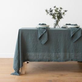 Balsam Verde Tovaglia in Lino Stone Washed