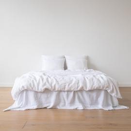 Bianco Ottico Set di Biancheria da Letto  Stone Washed