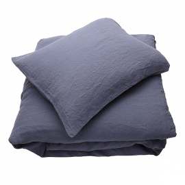 Mirtillo Set di Biancheria da Letto  Stone Washed