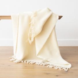 Telo in pura lana avorio Paula