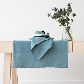 Tovaglia in Lino Stone Blue Lara