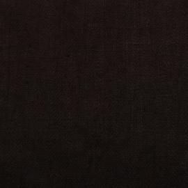 Campione di tessuto di lino color cioccolato Lara