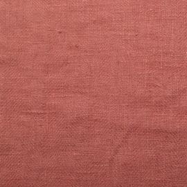 Campione di tessuto di lino Canyon Rose Lara