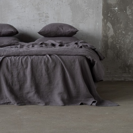 Steel Grigio Lenzuolo in Lino Stone Washed