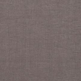 Stone Washed Herringbone Navy Blue Bed Linen Fabric