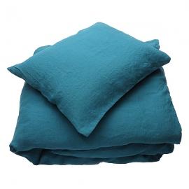 Marine Blue Set di Biancheria da Letto  Stone Washed