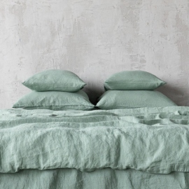 Set di biancheria da letto Spa Green Stone Washed
