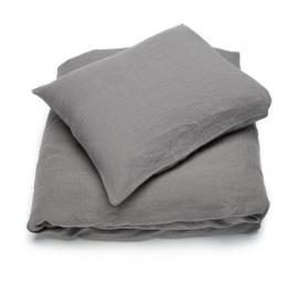 Steel Grey Set di Biancheria da Letto  Stone Washed
