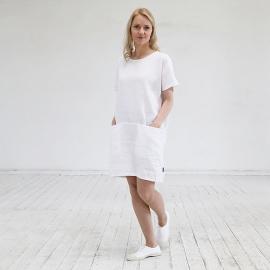 Abito bianco lino Felisa