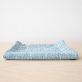 Asciugamano da Bagno in Lino Marine Blue Francesca