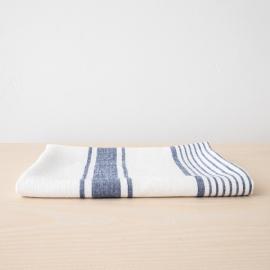 Asciugamano da bagno in Lino Indigo Tuscany