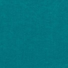 Sea Blue Bed Linen Fabric Sample