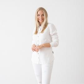 Camicia Bianca Lino Fabio