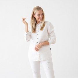 White Camicia in Lino Ernesto