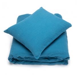 Sea Blue Set di Biancheria da Letto  Stone Washed