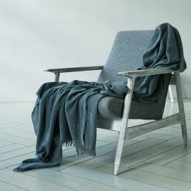 Grey Telo di Cashmere Eva